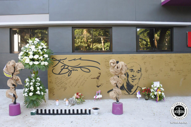 Tiebreaker Times Prayers, flowers, candles offered to Kobe Bryant in Valenzuela court Basketball News  Kobe Bryant House of Kobe