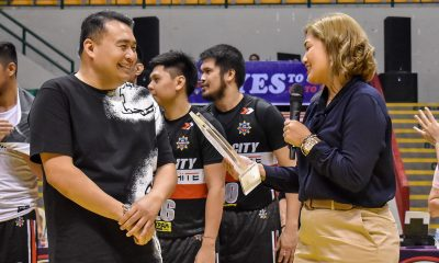 Tiebreaker Times Binan City Heroes make sure to gift Vice Mayor perfect present -- a win Basketball MPBL News  Gel Alonte Denok Miranda Biñan City-Krah Heroes 2019-20 MPBL Lakan Cup