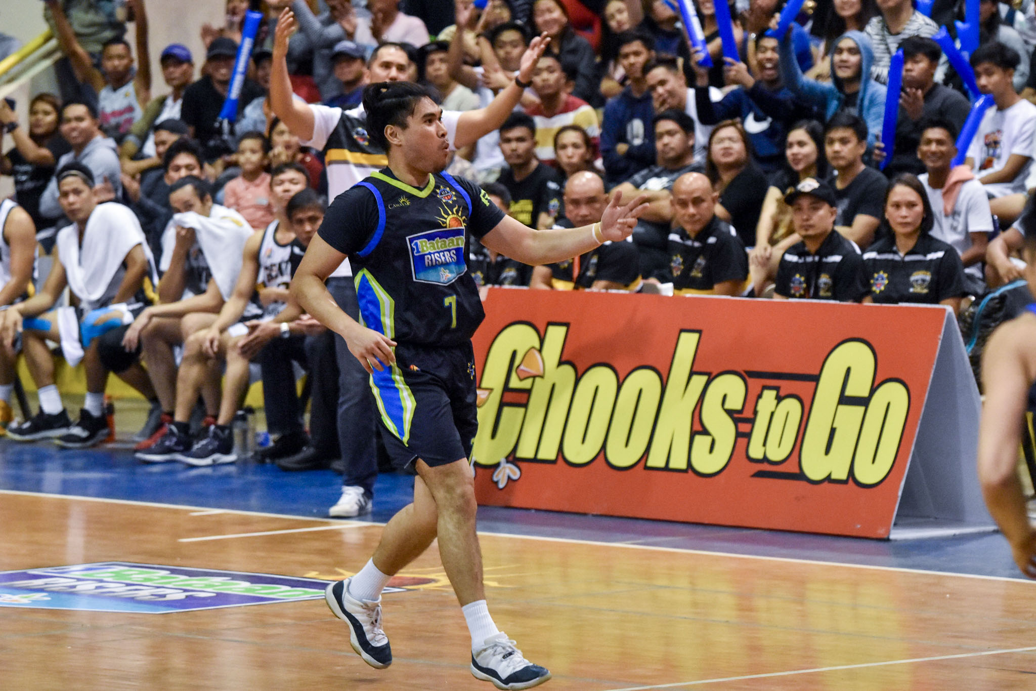 Tiebreaker Times From limbo to MPBL playoffs: How Jonas Villanueva turned things around for 1Bataan Basketball MPBL News  Jonas Villanueva Bataan Risers 2019-20 MPBL Lakan Cup