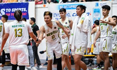 Tiebreaker Times Sarao comes through as Nueva Ecija stuns Batangas to keep slim MPBL playoff hopes alive Basketball MPBL News  Rey Suerte Nueva Ecija Rice Vanguards Jepoy SARAO Jason Melano Jason Grimaldo James Martinez Charles Tiu Batangas City-Tanduay Athletics Adrian Celada 2019-2020 MPBL Lakan Cup