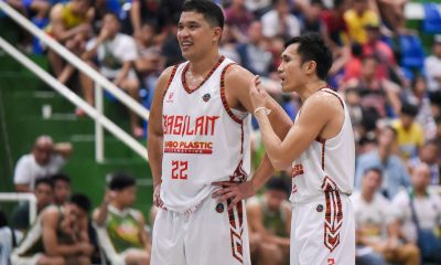 Tiebreaker Times At age 40, Dennis Daa continues to be steady presence for Basilan Steel Basketball MPBL News  Jerson Cabiltes Dennis Daa Basilan Steel 2019-20 MPBL Lakan Cup