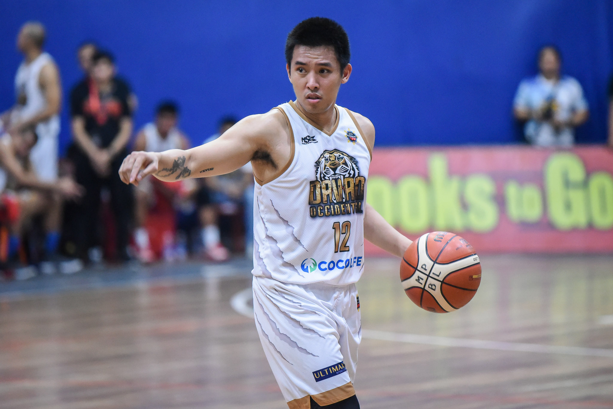 Tiebreaker Times Davao Occidental spoils Rhuel Acot's debut, picks up win no. 21 in MPBL Basketball MPBL News  Yvan Ludovice Rhuel Acot Makati Super Crunch Kenneth Mocon Juneric Baloria Joseph Sedurifa Don Dulay Davao Occidental Tigers Billy Ray Robles 2019-20 MPBL Lakan Cup