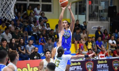 Tiebreaker Times Cebu Sharks escape Nueva Ecija, close in on Bicol for MPBL South eighth spot Basketball MPBL News  Rhaffy Octobre Nueva Ecija Rice Vanguards Noynoy Falcasantos Nichole Ubalde Kraniel Viloria John Saycon Jai Reyes Cebu Sharks 2019-20 MPBL Lakan Cup