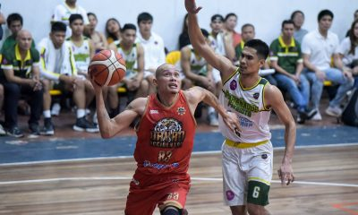 Tiebreaker Times Mark Yee, Davao Occidental vent ire on Paranaque to keep lead in MPBL South Basketball MPBL News  Paranaque Patriots Mark Yee Keith Pido James Abugan Emman Calo Don Dulay Davao Occidental Tigers Chester Saldua 2019-20 MPBL Lakan Cup