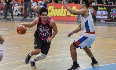 Tiebreaker Times Gwyne Capacio, Jhan Nermal step up as Bulacan snaps skid at QC's expense in MPBL Basketball MPBL News  Stephen Siruma Ryan Costelo Quezon City Capitals Mark Olayon Jovit Dela Cruz Jhan Nermal Clark Derige Bulacan Kuyas 2019-20 MPBL Lakan Cup