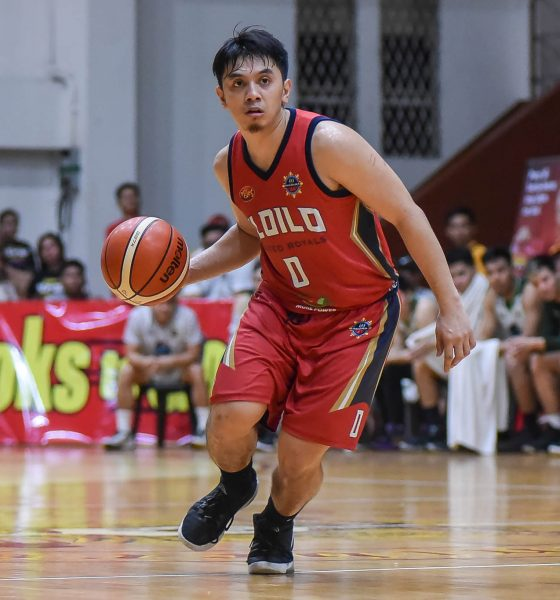 Tiebreaker Times Homegrown Aaron Jeruta makes sure Iloilo bags home win in fourth try Basketball MPBL News  Iloilo United Royals Aaron Jeruta 2019-20 MPBL Lakan Cup