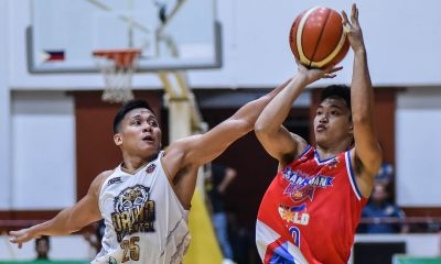 Tiebreaker Times Subido provides spark as San Juan torches Davao Occi in MPBL Finals rematch Basketball MPBL News  Yvan Ludovice Renzo Subido Randy Alcantara Orlan Wamar Mark Yee John Wilson Go for Gold-San Juan Knights Davao Occidental Tigers 2019-20 MPBL Lakan Cup