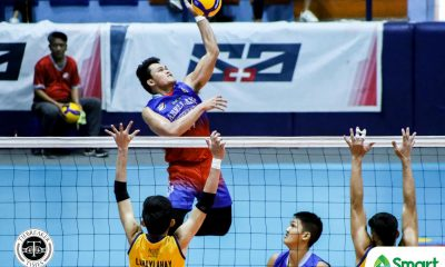 Tiebreaker Times Arellano Chiefs remain perfect, nip JRU for third straight win in NCAA 95 AU JRU NCAA News Volleyball  Sherwin Meneses Ryan Dela Paz Rogelio Sarza NCAA Season 95 Men's Volleyball NCAA Season 95 Matthew Miguel June Laxina JRU Men's Volleyball Edmark Meneses Christian Segovia Christian dela Paz Arellano Men's Volleyball