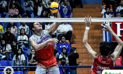 Tiebreaker Times Arellano Chiefs sweep Lyceum to kick off NCAA Season 95 AU LPU NCAA News Volleyball  Sherwin Meneses NCAA Season 95 Men's Volleyball NCAA Season 95 Lyceum Men's Volleyball Kim Vincent Tan Juvic Colonia Joshua Esguerra Jethro Cabillan Jesrael Liberato Emil Lontoc Edmark Meneses Christian Segovia Arellano Men's Volleyball