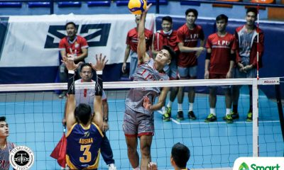 Tiebreaker Times Tibayan's late scoring binge  vs JRU hands Lyceum Pirates first win in NCAA 95 LPU NCAA News Volleyball  Wilbert Cebrero Ryan Dela Paz NCAA Season 95 Men's Volleyball NCAA Season 95 Matthew Miguel Lyceum Men's Volleyball Lester Villceran Kier Tibayan Kenneth Daynata Juvic Colonia JRU Men's Volleyball Josue Velasco Jhomelle Legaspi Emil Lontoc Deon Colorado
