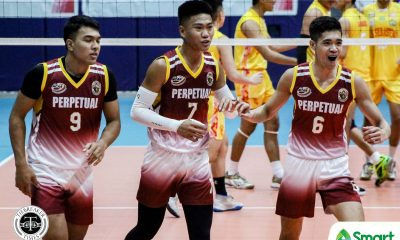 Tiebreaker Times Acaylar sees National Team potential in young Louie Ramirez NCAA News UPHSD Volleyball  Sammy Acaylar Perpetual Men's Volleyball NCAA Season 95 Men's Volleyball NCAA Season 95 Louie Ramirez