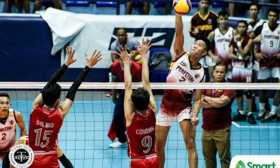 Tiebreaker Times Louie Ramirez's 23 buoys Perpetual Altas to 3-0 in NCAA 95, fends off Lyceum LPU NCAA News UPHSD Volleyball  Sammy Acaylar Ronniel Rosales Perpetual Men's Volleyball NCAA Season 95 Men's Volleyball NCAA Season 95 Lyceum Men's Volleyball Louie Ramirez Kier Tibayan Josue Velasco Emil Lontoc EJ Casana Jeric Atentar
