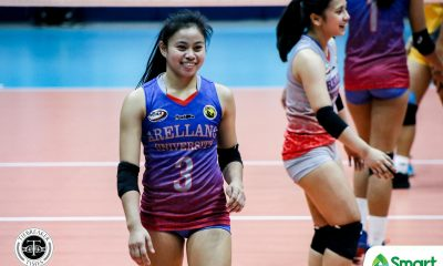 Tiebreaker Times Arellano Lady Chiefs zoom to 3-0 in NCAA 95, sweep JRU AU JRU NCAA News Volleyball  Sarah Verutiao Regine Arocha Princess Bello Obet Javier NCAA Season 95 Women's Volleyball NCAA Season 95 Mia Tioseco JRU Women's Volleyball Faye Flores Dolly Versoza Carla Donato Arellano Women's Volleyball