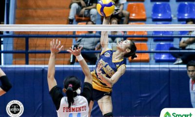 Tiebreaker Times JRU Lady Bombers snap skid, blast EAC in NCAA 95 EAC JRU NCAA News Volleyball  Rod Palmero Renesa Melgar NCAA Season 95 Women's Volleyball NCAA Season 95 Mia Tioseco Mary May Ruiz Lauren Cabrera Karylla Jasareno JRU Women's Volleyball EAC Women's Volleyball Dolly Versoza Dharlane Gallardez Anne Formento Angel Bautista