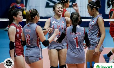 Tiebreaker Times Venice Puzon sets tone as Lyceum Lady Pirates romp EAC for second NCAA 95 win EAC LPU NCAA News Volleyball  Venice Puzon Rod Palmero NCAA Season 95 Women's Volleyball NCAA Season 95 Monica Sevilla Mary Joy Onofre Lyceum Women's Volleyball Jayrah Mangaring Emil Lontoc EAC Women's Volleyball Cathrine Almazan Camille Belaro Alexandra Rafael