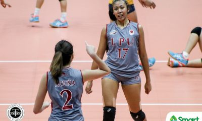 Tiebreaker Times Lyceum Lady Pirates nab breakthrough win in NCAA 95, sweep JRU JRU LPU NCAA News Volleyball  Venice Puzon NCAA Season 95 Women's Volleyball NCAA Season 95 Mia Tioseco Mary Joy Onofre Lyceum Women's Volleyball JRU Women's Volleyball Jacqueline Acuna Emil Lontoc Dolly Versoza Ciarmelle Wanta Camille Belaro Alexandra Rafael