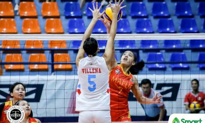 Tiebreaker Times Lorraine Barrias leads Mapua Lady Cardinals past EAC for first win in NCAA 95 EAC MIT NCAA News Volleyball  Wellamae Ortega NCAA Season 95 Women's Volleyball NCAA Season 95 Melchor Santos Mapua Women's Volleyball Lorraine Barias Krizzia Reyes EAC Women's Volleyball Clarence Esteban Cathrine Almazan Ayena Espiritu Angeline Magundayao