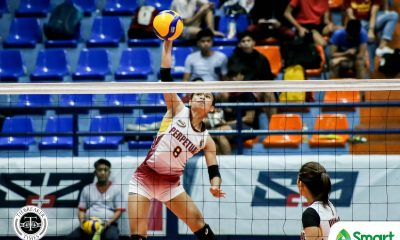 Tiebreaker Times Rosal shows all-around wares, powers Perpetual Lady Altas past Lyceum in NCAA 95 LPU NCAA News UPHSD Volleyball  Venice Puzon Perpetual Women's Volleyball NCAA Season 95 Women's Volleyball NCAA Season 95 Mary Joy Onofre Macky Cariño Lyceum Women's Volleyball Jhona Rosal Jenny Gaviola Emil Lontoc Ciamelle Wanta Camille Belaro Bianca Tripoli Allysa Sangalang Alexandra Rafael