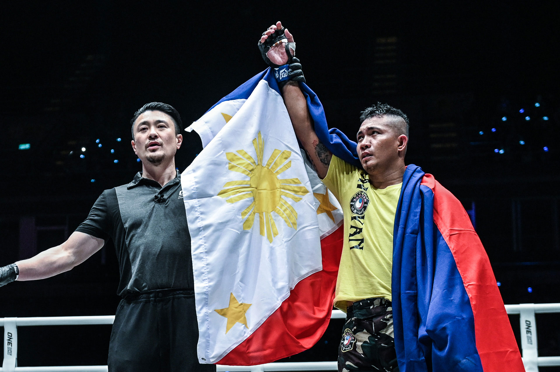 Tiebreaker Times Roel Rosauro snaps skid, ekes out UD win in ONE: A New Tomorrow Mixed Martial Arts News ONE Championship  Yohan Mulia Legowo Yaw-Yan Ardigma Cebu Roel Rosauro ONE: A New Tomorrow