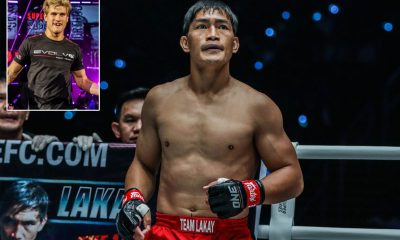 Tiebreaker Times Eduard Folayang eyes possible showdown with Sage Northcutt Mixed Martial Arts News ONE Championship  Team Lakay Sage Northcutt ONE: Fire and Fury Eduard Folayang