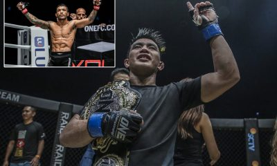 Tiebreaker Times Joshua Pacio pumped for showdown with Alex Silva Mixed Martial Arts News ONE Championship  Team Lakay ONE: Fire and Fury Joshua Pacio Alex Silva