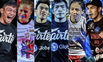 Tiebreaker Times Filipinos out to shine come ONE: Fire and Fury Mixed Martial Arts News ONE Championship  Team Lakay ONE: Fire and Fury Mark Sangiao Lito Adiwang Joshua Pacio Jomary Torres Gina Iniong Eduard Folayang Danny Kingad Catalan Fighting Systems