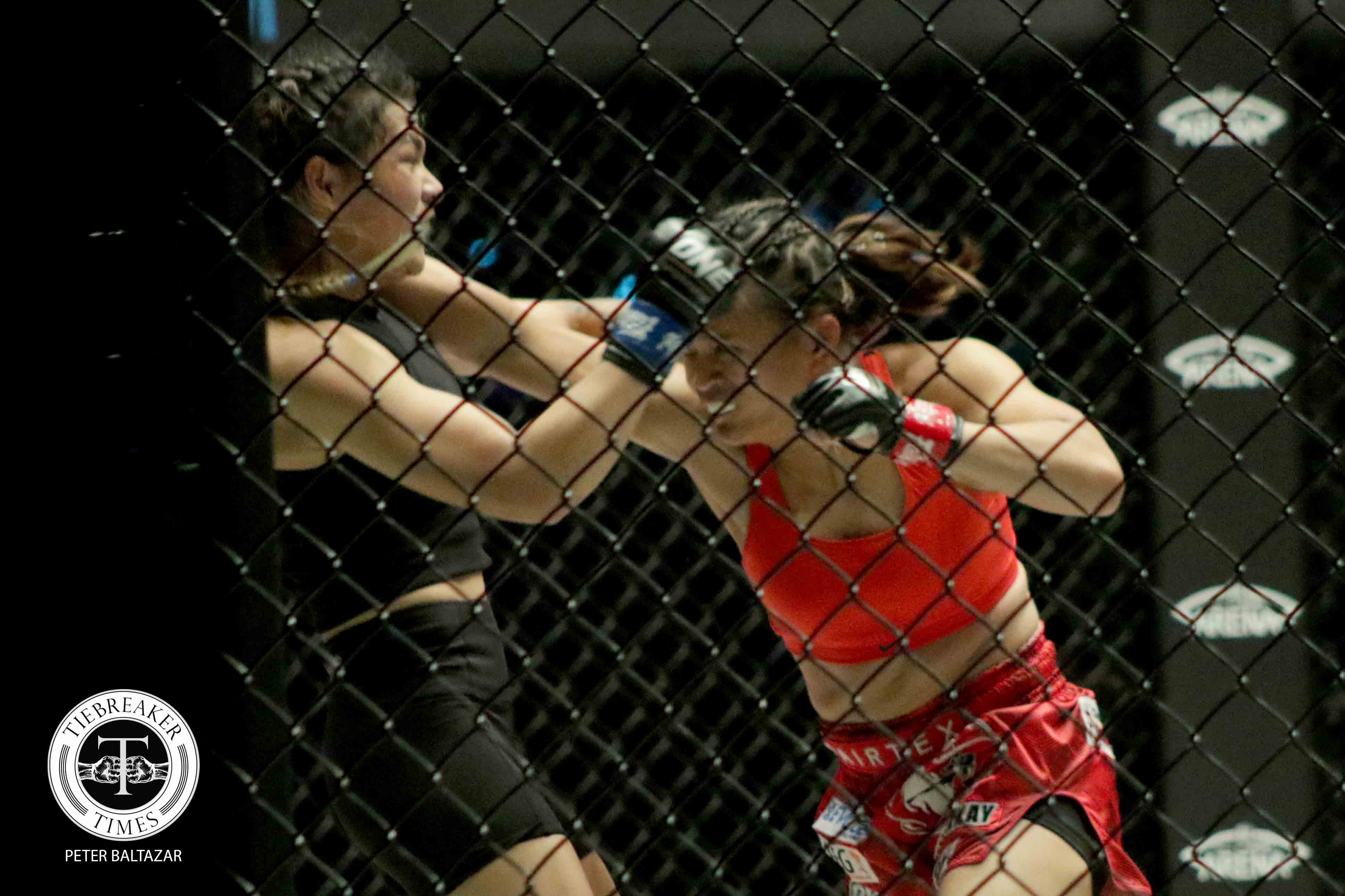 Tiebreaker Times Gina Iniong grounds Indian boxer for second straight win in ONE Mixed Martial Arts Muay Thai News ONE Championship  Team Lakay Rodlek PK.Saenchaimuaythaigym ONE: Fire and Fury Gina Iniong Chris Shaw Asha Roka