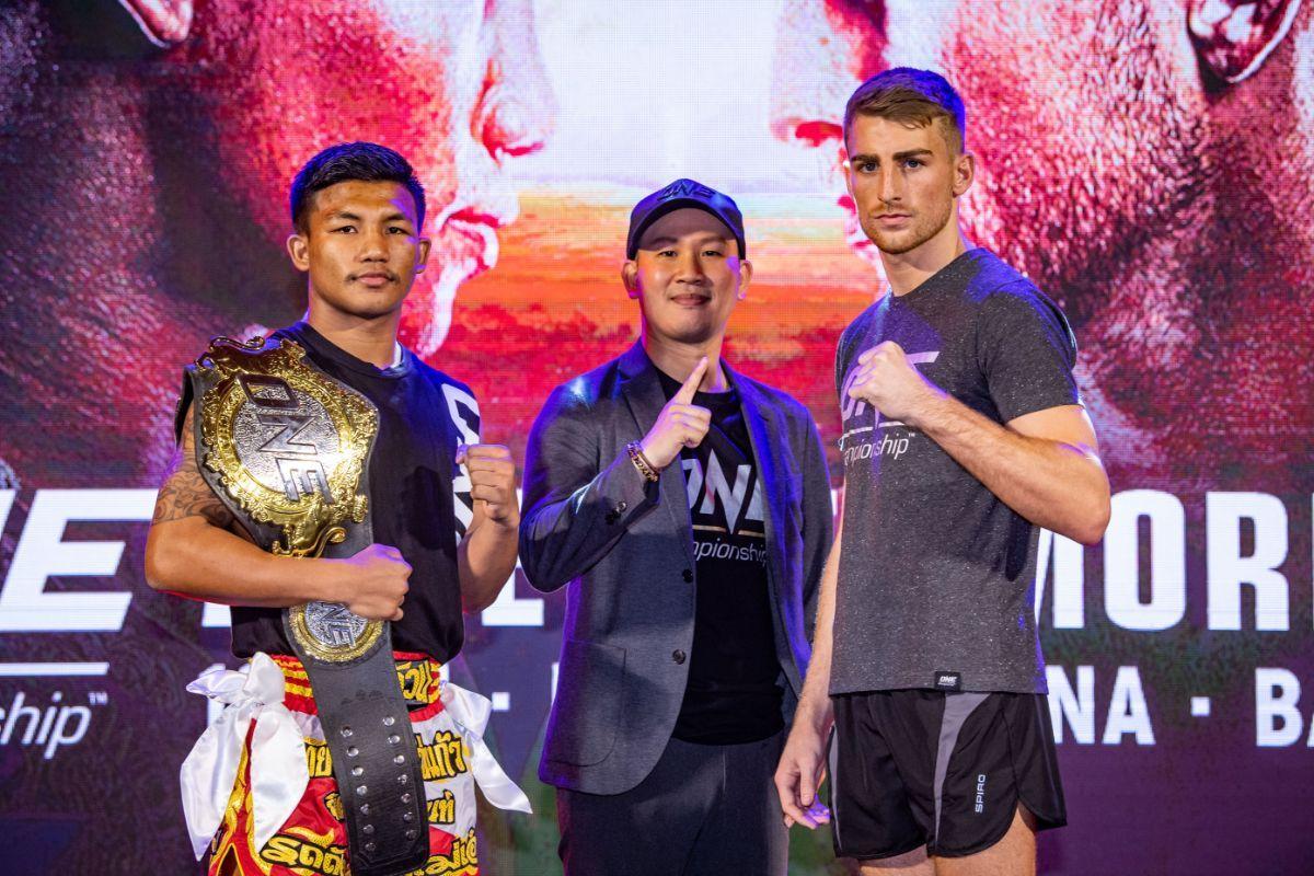 Tiebreaker Times Jonathan Haggerty out to spoil Rodtang's grand 2020 plans Muay Thai News ONE Championship  Rodtang Jitmuangnon ONE: A New Tomorrow Jonathan Haggerty