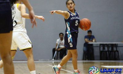 Tiebreaker Times Padilla, Camagong make it rain on UST, lift Adamson to solo lead in UAAP Girls Basketball ADMU AdU Basketball DLSU News UAAP UST  UST Girls Basketball UAAP Season 82 Girls' Basketball UAAP Season 82 Rachel Lacayanga Katelyn Cancio Joan Camagong Jeehan Ahmed Ewon Arayi Erika Danganan DLSZ Girls Basketball Crisnalyn Padilla Candice Udal Ateneo Girls Basketball Andrea Armiento Adamson Girls Basketball