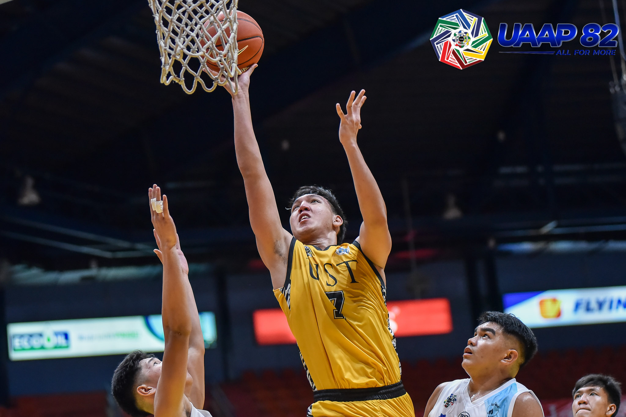 Tiebreaker Times No Agents Involved: Decision to go to UP was family's, says Bis Lina Basketball News UAAP UP  UST Men's Basketball UP Men's Basketball UAAP Season 83 Men's Basketball UAAP Season 83 Bismarck Lina