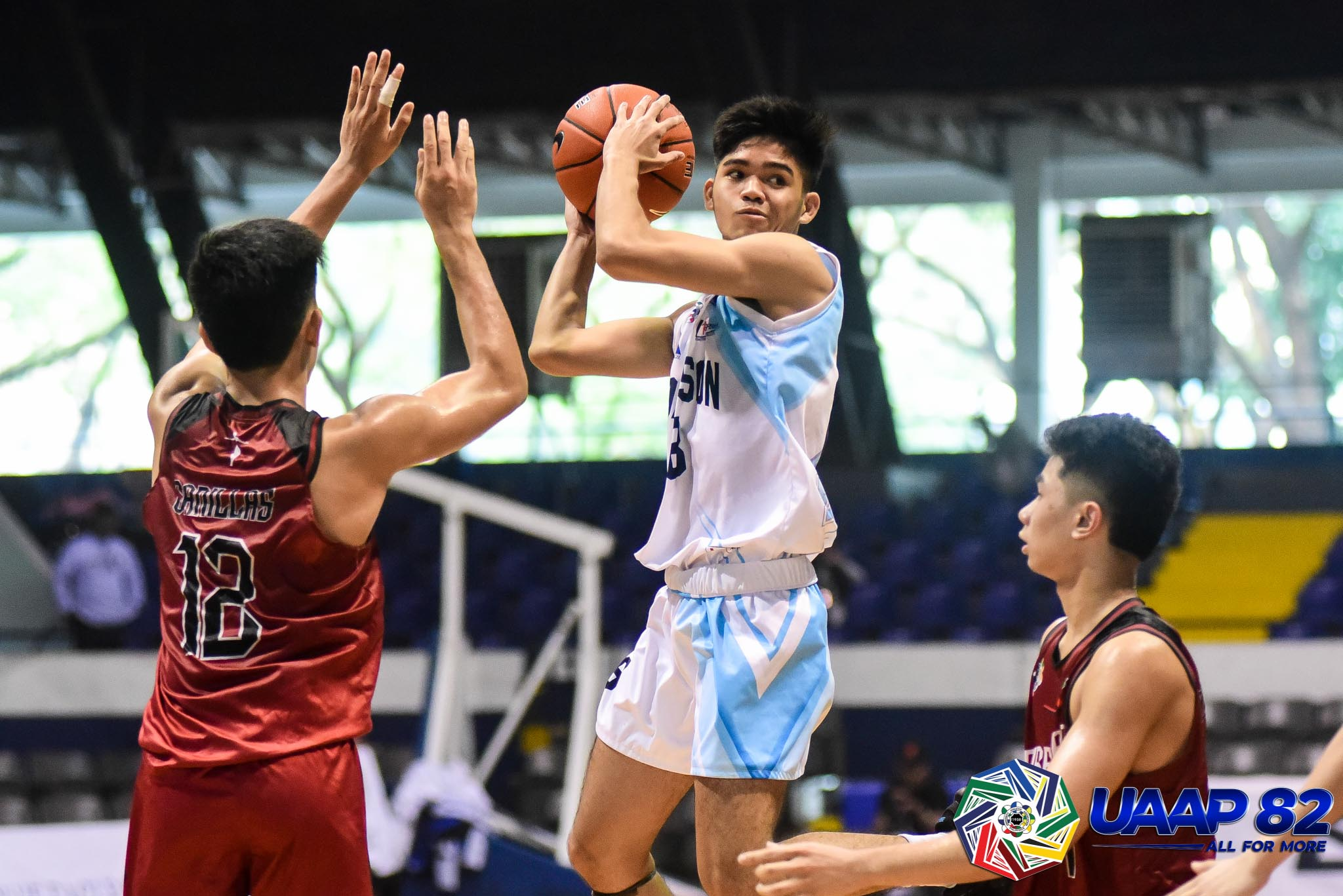 Tiebreaker Times Ateneo High vents ire on UE for solo third as NU-NS, FEU-D continue runs in UAAP 82 ADMU AdU Basketball DLSU FEU News NU UAAP UE UP UST  Yasir Hanapi UST Boys Basketball UPIS Boys Basketball UE Boys Basketball UAAP Season 82 Boys' Basketball UAAP Season 82 Terrence Fortea Sean Torculas Ruzzell Dominguez Rojan Montemayor Reggie Varilla Ray Torres NU Boys Basketball Lebron Lopez Kevin Quiambao Kean Baclaan Jynno Ladimo Joshua Lazaro Jorick Bautista Jon Cudiamat John Figueroa John Erolon Jethro Escoto Gerry Abadiano FEU Boys Basketball DLSZ Boys Basketball CJ Austria Chiolo Anonuevo Carl Tamayo Bismarck Lina Ateneo Boys Basketball Adamson Boys Basketball