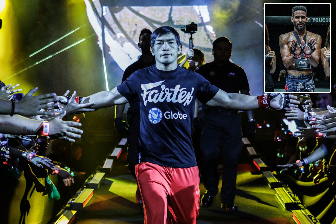 Tiebreaker Times Eduard Folayang draws new opponent for ONE: Fire and Fury Mixed Martial Arts News ONE Championship  Team Lakay Pieter Buist ONE: Fire and Fury Eduard Folayang
