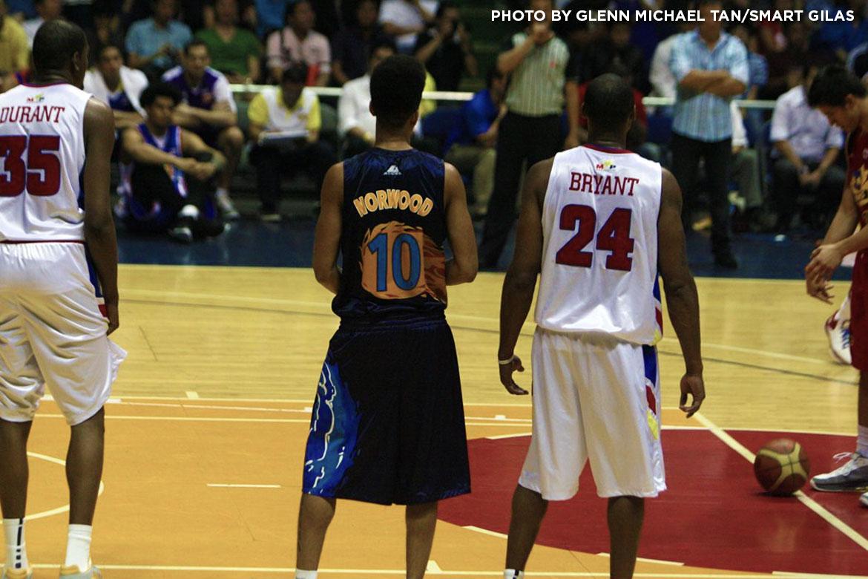 Tiebreaker Times Norwood on short conversation with Kobe: 'He brought himself down to our level' Basketball News PBA  Rain or Shine Elasto Painters PBA Season 45 Kobe Bryant Gabe Norwood