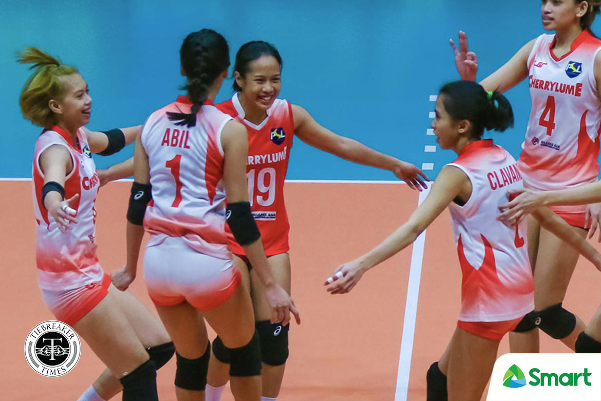 Tiebreaker Times Jasckin Babol looks to come into her own for UE in post-Arado era News UAAP UE Volleyball  UE Women's Volleyball UAAP Season 82 Women's Volleyball UAAP Season 82 Jasckin Babol