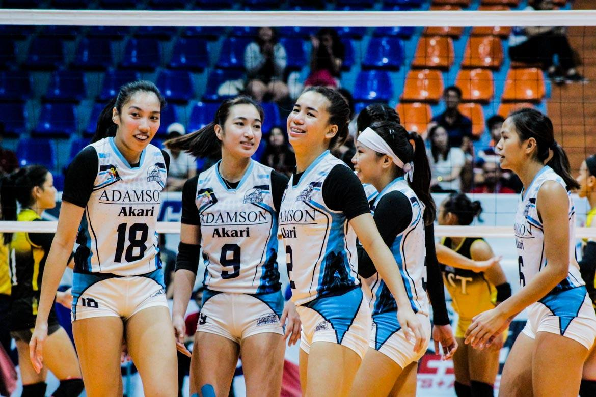 Tiebreaker Times Lucille Almonte to miss Adamson's UAAP 82 campaign AdU News UAAP Volleyball  UAAP Season 82 Women's Volleyball UAAP Season 82 Lucille Almonte Lerma Giron Adamson Women's Volleyball