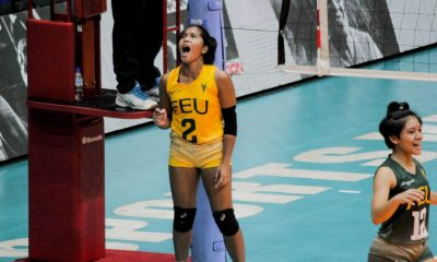 Tiebreaker Times Amid Pons comparisons, Shiela Kiseo looks to carve own path in FEU FEU News UAAP Volleyball  UAAP Season 82 Women's Volleyball UAAP Season 82 Shiela Kiseo FEU Women's Volleyball