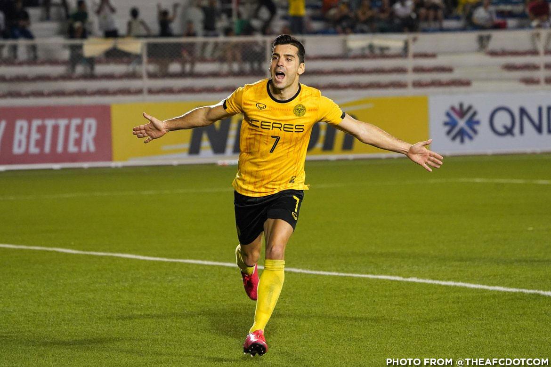 Tiebreaker Times Bienve Marañon expresses desire to play for Azkals Football News PFL Philippine Malditas  Philippine Azkals Ceres-Negros FC Bienvenido Marañon