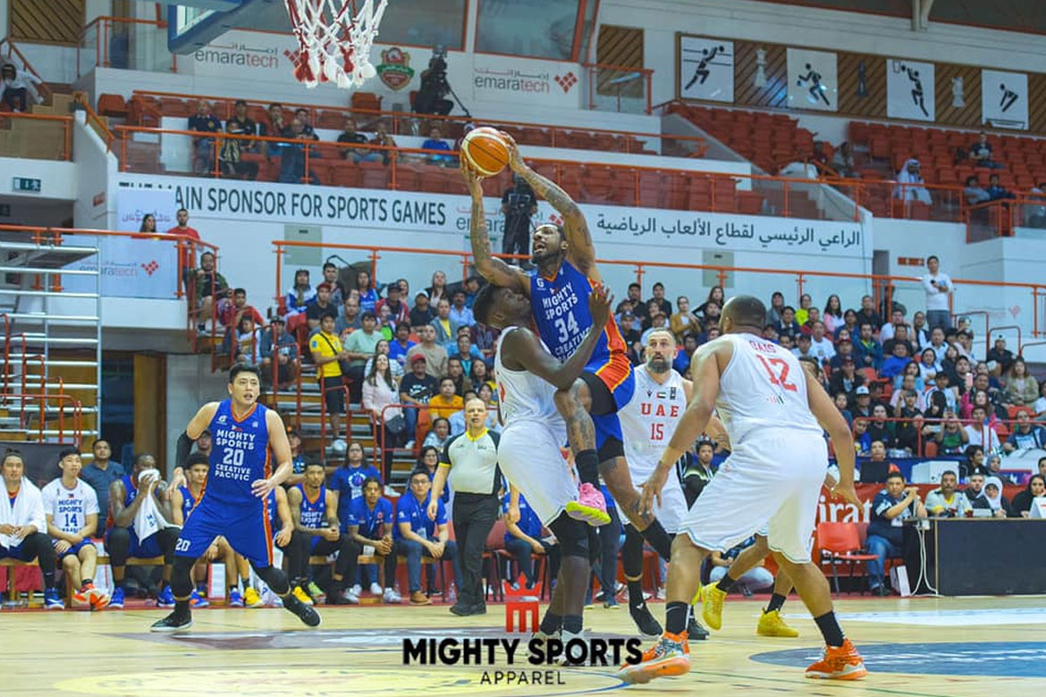 Tiebreaker Times Mighty Sports weathers AS Sales, advances to Dubai title game Basketball News  Thirdy Ravena Soufiane Kourdou Renaldo Balkman Radhouane Slimane Mikey Williams Mighty Sports jamie malonzo Charles Tiu AS Salé Andray Blatche Abderrahim Najah 2020 Dubai International Basketball Championship