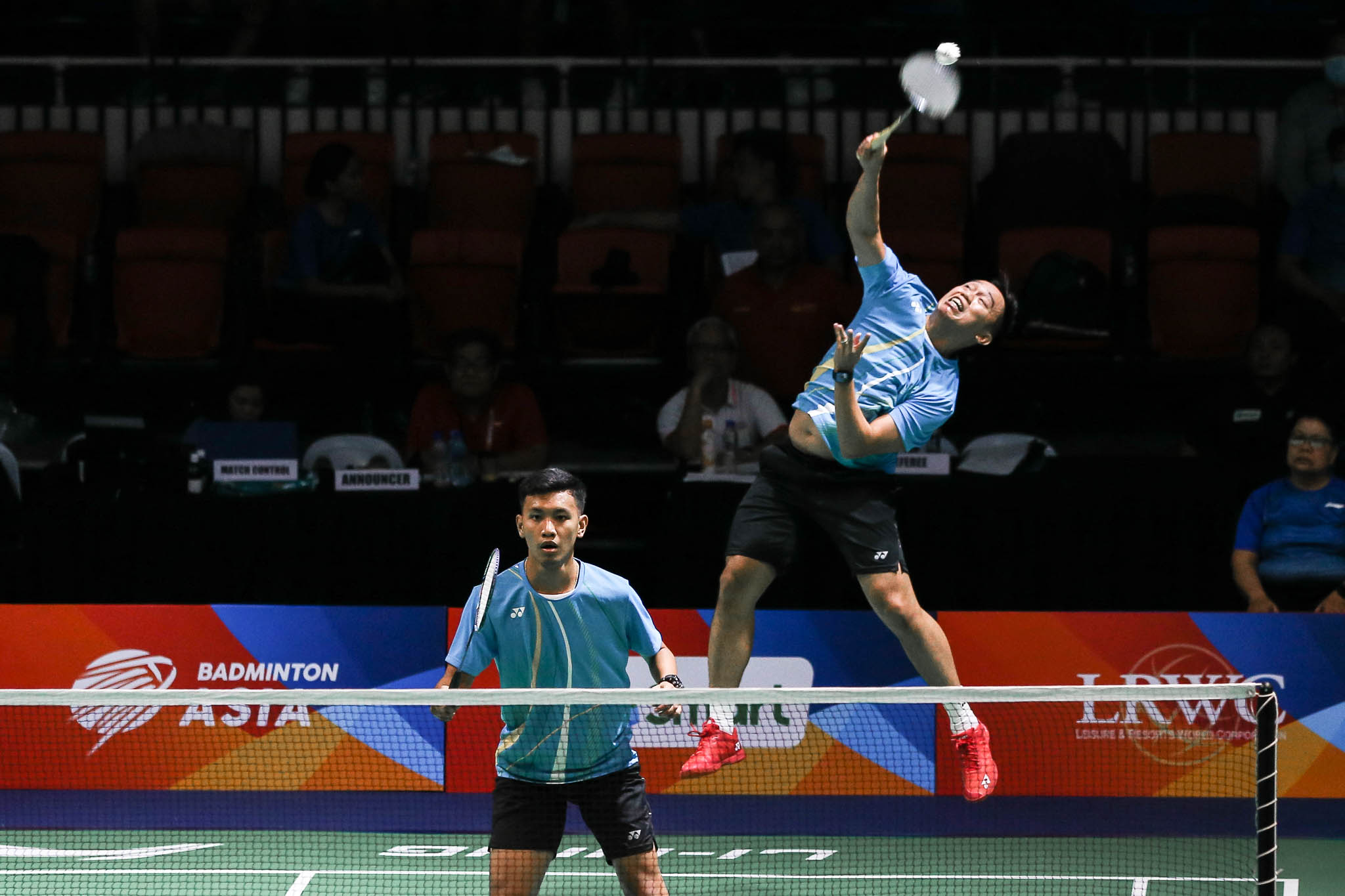 2020-SMART-Badminton-Asia-Manila-Team-Championships-Indonesia-def-Philippines-Alvin-Morada-and-Ariel-Magnaye Gallant Philippines falls to Christie, Indonesia in Asian Badminton Team QF 2020 Badminton Asia Team Championships Badminton News  - philippine sports news