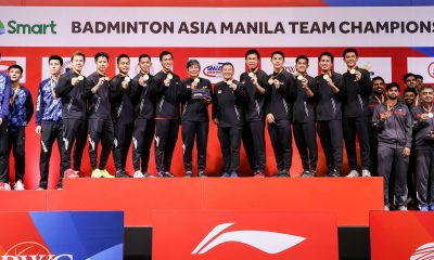 Tiebreaker Times Indonesia takes Asian Badminton Team Championships three-peat 2020 Badminton Asia Team Championships Badminton News  Teo Ee Yi Soh Wooi Yik Shesar Rhustavito Ong Yew Sin Muhammad Ardianto Mohammad Ahsan Marcus Gideon Malaysia (Badminton) Lee Zii Jia Kevin Sakamuljo June Wei Cheam Jonathan Christie Indonesia (Badminton) Hendra Satiawan Firman Kholik Fajar Alfian Anthony Ginting Aaron Chia 2020 Badminton Asia Team Championships