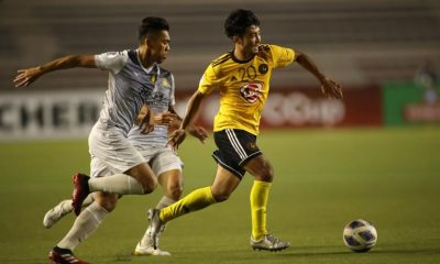 Tiebreaker Times Kaya-Iloilo settles for draw with Tampines, remains on top of AFC Cup Group H AFC Cup Football News  Tampines Rovers Simone Rota Oliver Colina Louie Casas Kaya-Iloilo FC Jayson Panhay Boris Kopitovic 2020 AFC Cup