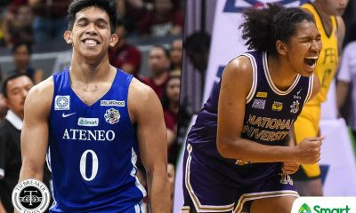 Tiebreaker Times Thirdy Ravena, Jack Animam to be hailed as PSA Mr. and Ms. Basketball ADMU Basketball News NU UAAP  Thirdy Ravena Patrick Aquino Jack Animam 2020 PSA Awards