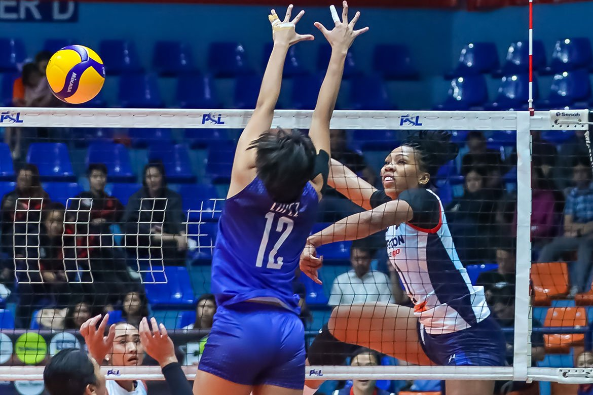 Tiebreaker Times Kath Bell relishes return amid adjustments with new-look Petron News PSL Volleyball  Petron Blaze Spikers Kath Bell 2020 PSL Season 2020 PSL Grand Prix