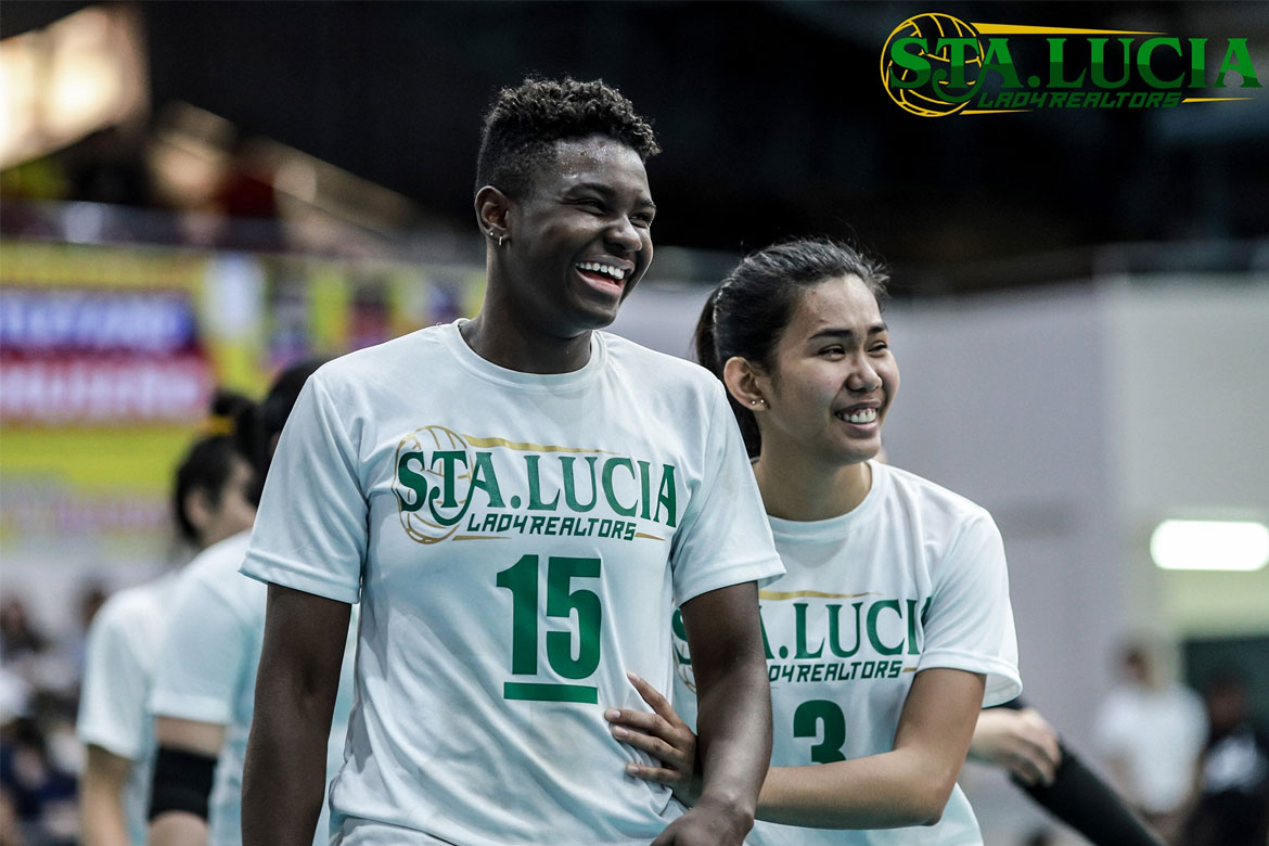 Tiebreaker Times Shainah Joseph grateful to Sta. Lucia for giving her captain role News PSL Volleyball  Sta. Lucia Lady Realtors Shainah Joseph Eddieson Orcullo 2020 PSL Super Cup