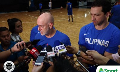 Tiebreaker Times Delay will make Gilas more dangerous vs Indonesia, says Mark Dickel 2021 FIBA Asia Cup Basketball Gilas Pilipinas News  Mark Dickel Indonesia (Basketball) Gilas Pilipinas Men 2021 FIBA Asia Cup Qualifiers