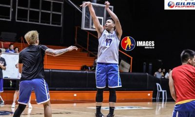 Tiebreaker Times Isaac Go to relish first game with Gilas Men: 'There's nothing else like playing for the country' 2021 FIBA Asia Cup Basketball Gilas Pilipinas News  Isaac Go Gilas Pilipinas Men 2021 FIBA Asia Cup Qualifiers