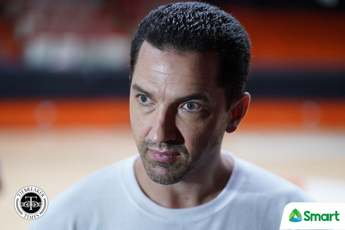 2021-fiba-acq-gilas-mark-dickel Even as coach, Jimmy Alapag will always be ready for Gilas call-up Basketball Gilas Pilipinas News  - philippine sports news