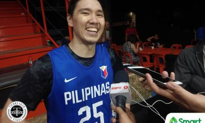 Tiebreaker Times Justin Chua officially replaces Japeth Aguilar in Gilas FIBA ACQ pool 2021 FIBA Asia Cup Basketball Gilas Pilipinas News  Justin Chua Japeth Aguilar Gilas Pilipinas Men 2021 FIBA Asia Cup Qualifiers