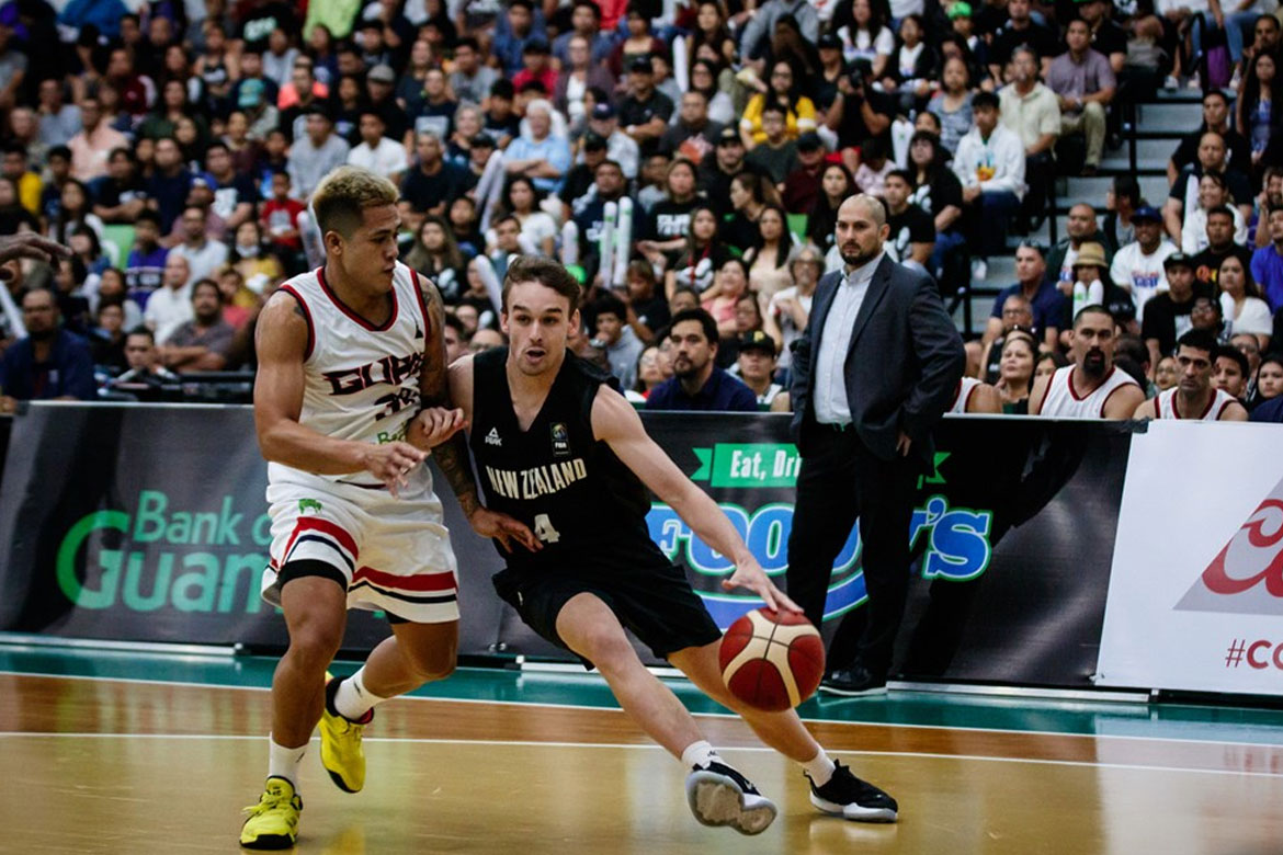 Tiebreaker Times Jericho Cruz honored to have represented PH, Guam on international stage 2021 FIBA Asia Cup Basketball News  Jericho Cruz Guam (Basketball) 2021 FIBA Asia Cup Qualifiers