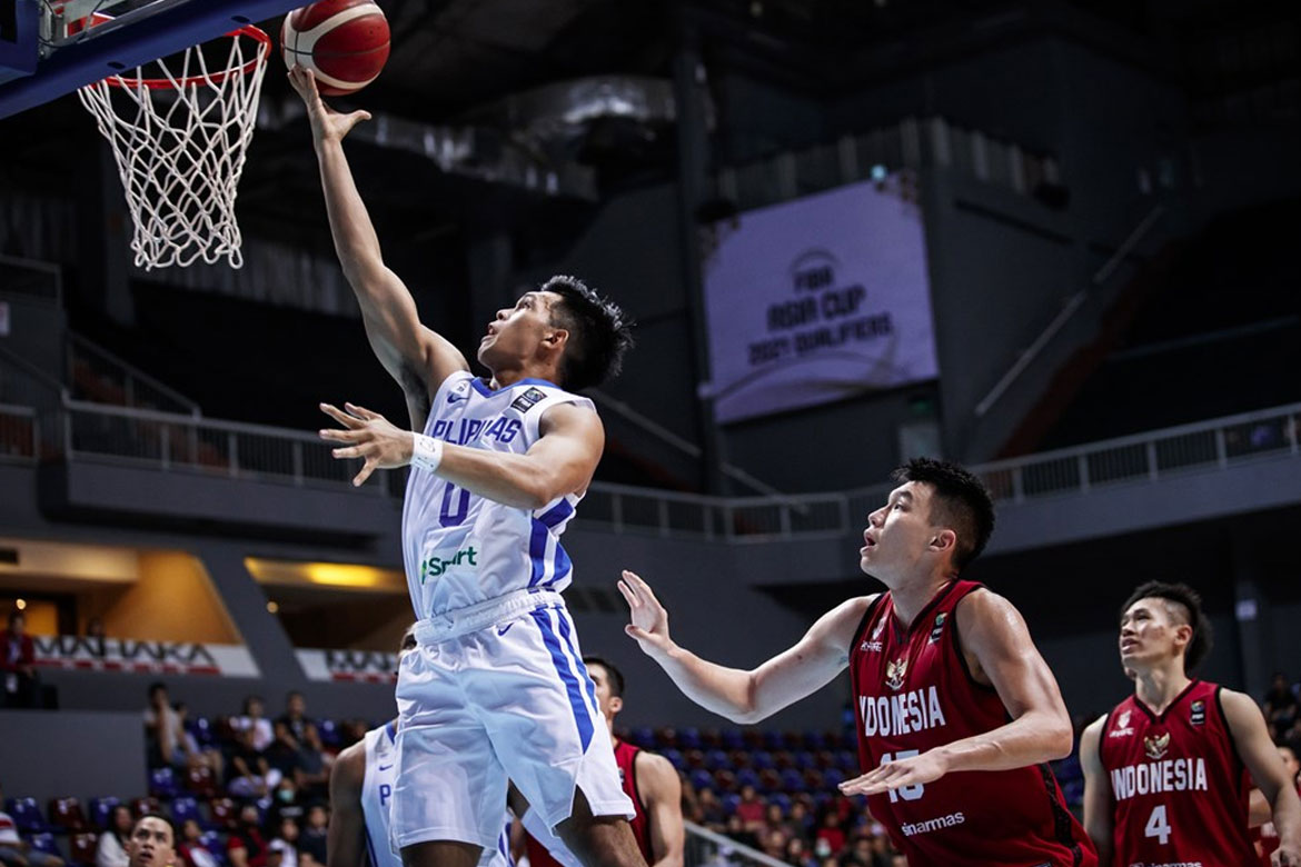 2021-fiba-acq-philippines-def-indonesia-thirdy-ravena SBP to ask FIBA regarding 'unfair' new sched, Korea's status for Manama 2021 FIBA Asia Cup Basketball Gilas Pilipinas News  - philippine sports news